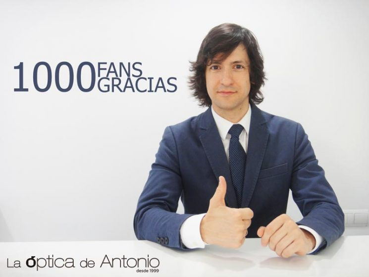 ¡1000 Fans en Facebook!